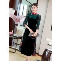 唐山职业装定做旗袍